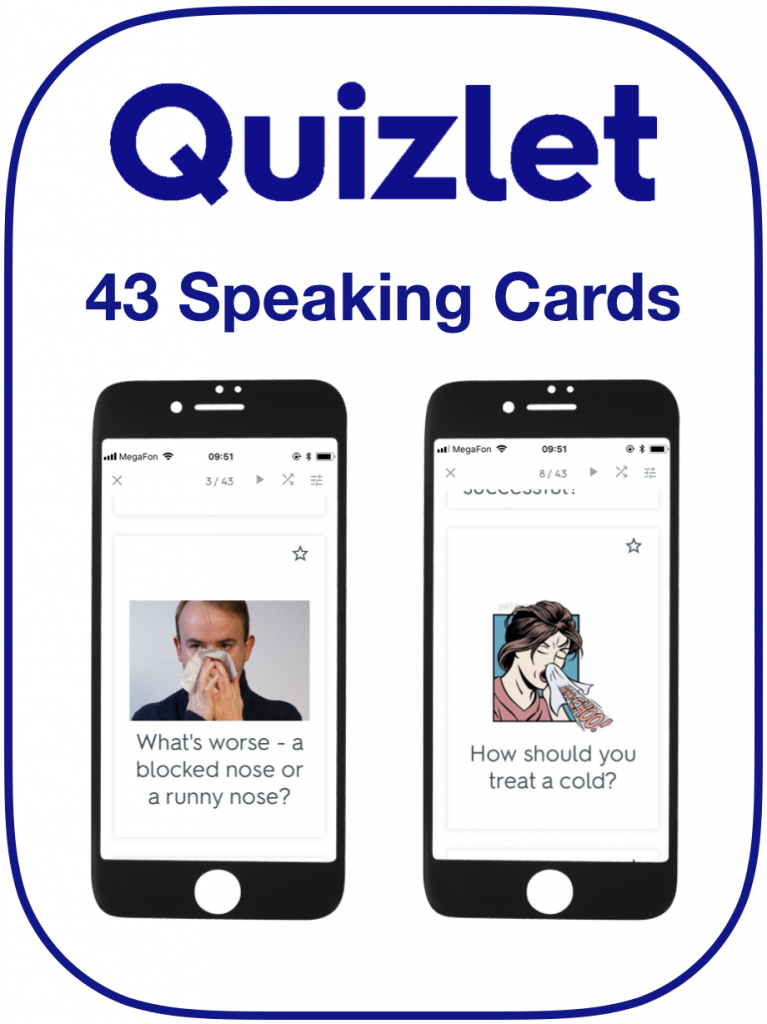 EFL Speaking Cards Health