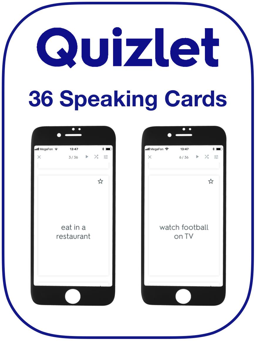EFL speaking cards will
