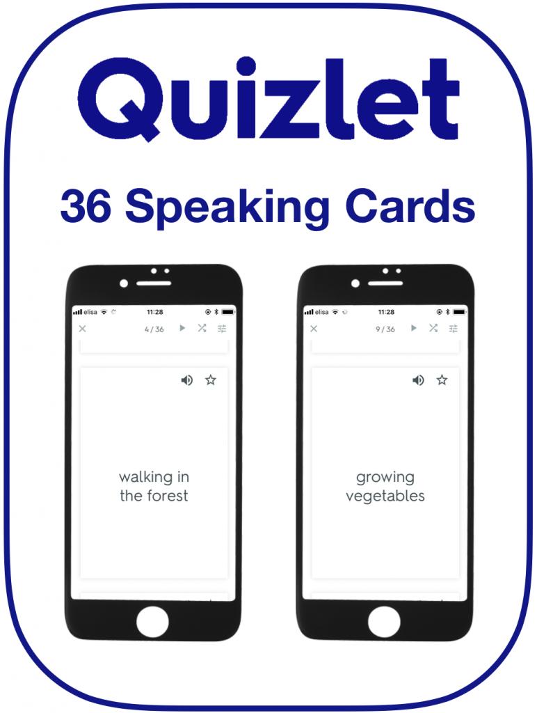 EFL Speaking Cards Likes Dislikes