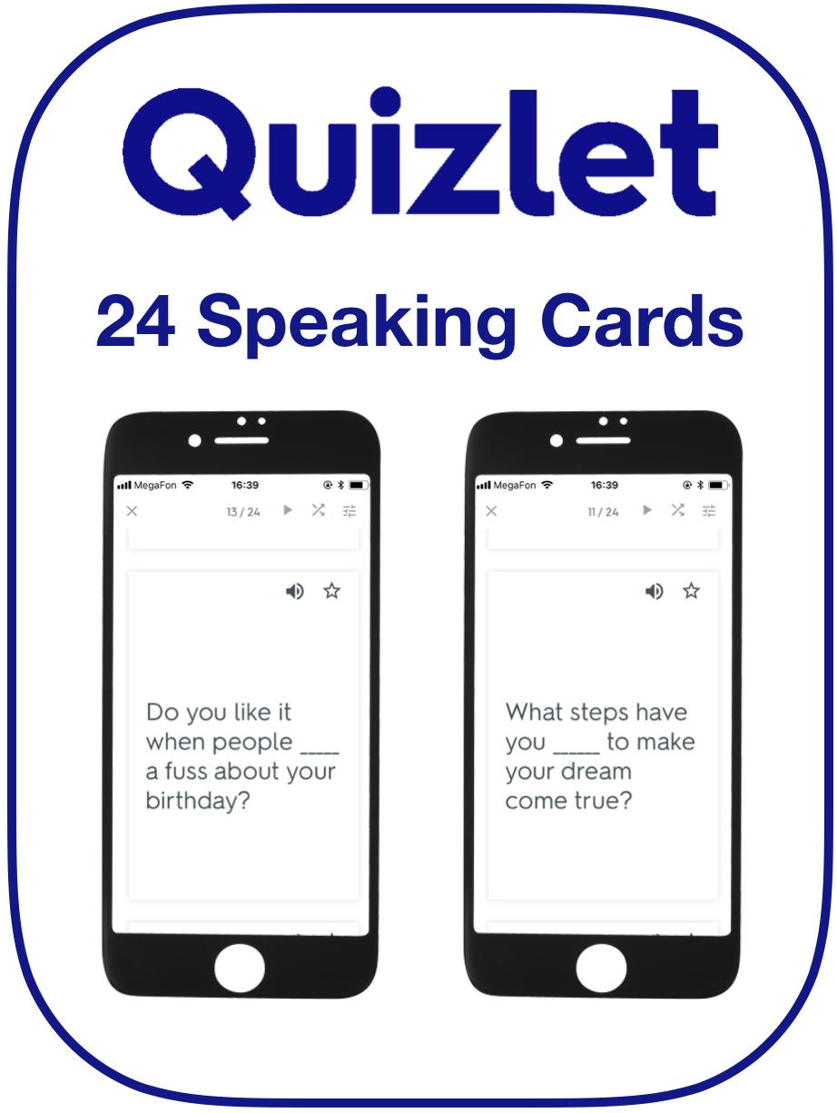 EFL Speaking Cards Make Do Take
