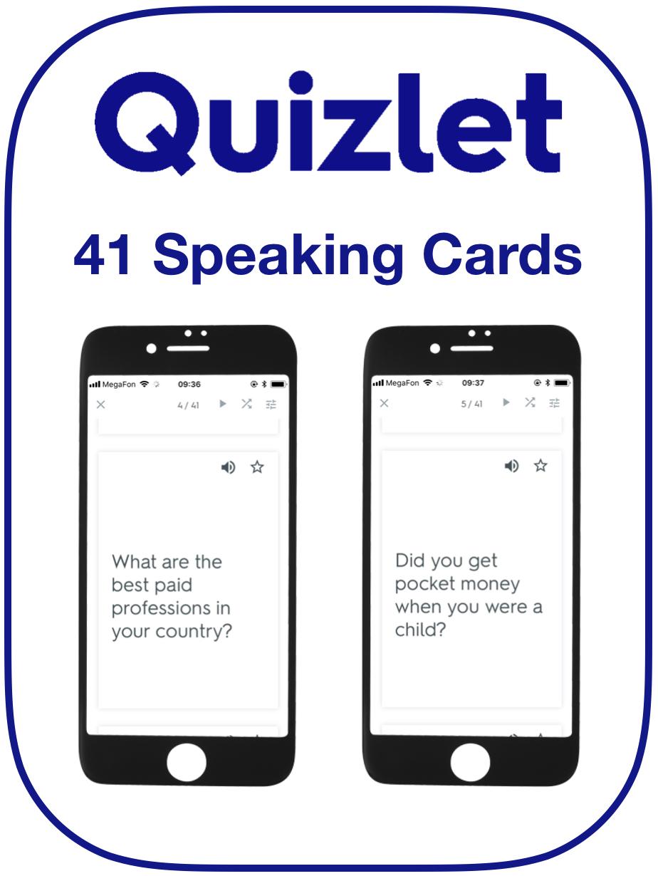 EFL Speaking Cards Money